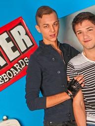 Gay Boys Paul Poleman and Jake Jonas