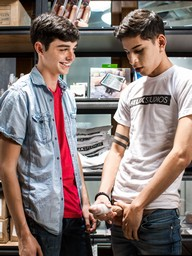 Gay Boys Aiden Garcia,Grayson Lange