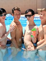 Gay Boys Tyler Thayer and Jasper Robinson