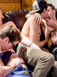 Gay Boys Camille Kenzo, Xavier Sibley, Zac Hunter, Sasha West and Skyler Dallon
