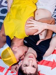 Gay Boys Baptiste Garcia and Abel Lacourt