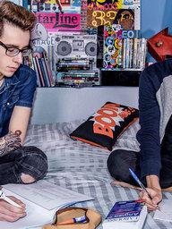 Gay Boys Alexis Tivoli and Jonathan Fabre