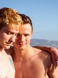 Gay Boys Josh Bensan and Logan Cross