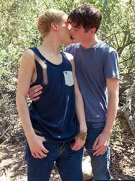 Gay Boys Josh Bensan and Cooper Steel