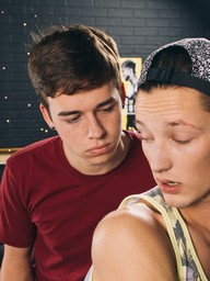 Gay Boys Casey Tanner and Troy Ryan