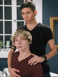 Gay Boys Jessie Montgomery and Aiden Garcia