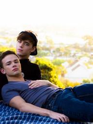 Gay Boys Logan Cross and Alex Killborn