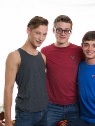 Gay Boys Casey Tanner, Blake Mitchell and Grayson Lange
