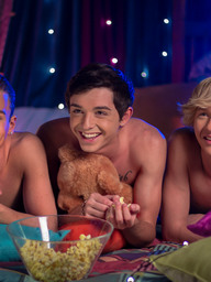 Gay Boys Jessie Montgomery, Brad Chase and Grayson Lange
