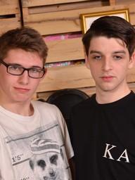 Gay Boy Jack Wright and Edwin Sykes
