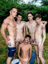 Gay Boy Chris Loan, Abel Lacourt, Matteo Lavigne, Paul Delay and Nolan Lacroix