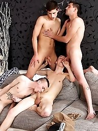 The gangbang foursome