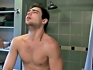 Things really do get steamy in the bathroom with Zack and...