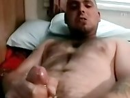 Amateur and hairy straight guy Brad gets some sucking...